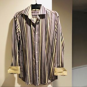 Bugatchi Striped Button down Shirt